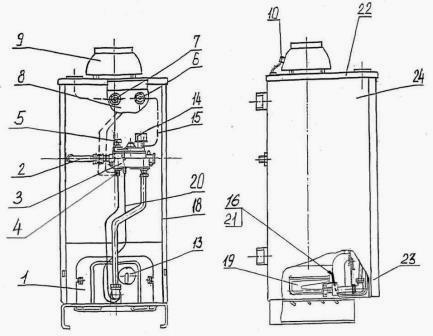 Устройство теплообменника котла аогв 17 4-1 сабк теплообменник альфа лаваль поток цена